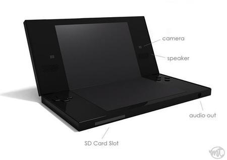 Delirios de diseñador: Nintendo 3DS con una sola pantalla y hologramas