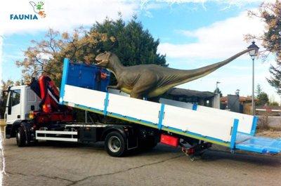 Los dinosaurios llegan a Faunia