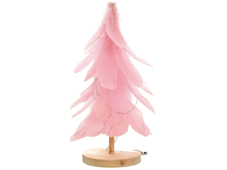 Captura De Pantalla 2020 12 16 A Las 11 46 43Adorno de árbol de Navidad de Plumas