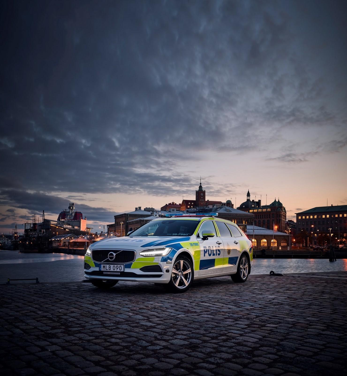 Foto de Volvo V90 - Policía Suecia (4/4)