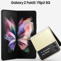 Galaxy Z Fold3 y Galaxy Z Flip3 se filtran en casi todo su esplendor: así serán los nuevos smartphones plegables de Samsung