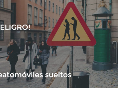 Suecia, donde las señales de tráfico avisan de peatones absortos en sus smartphones