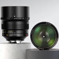 TTArtisan M 90mm F1.25, nueva óptica ultraluminosa para cámaras Leica M (y muchas otras con adaptador) por 770 dólares