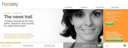 Hooeey, monitorización, marcador social y motor de búsquedas de forma unificada
