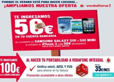 The Phone House y Vodafone ¡Tiran la casa por la ventana!