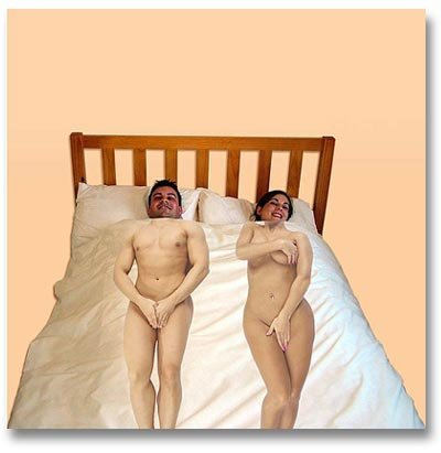 Edredón para estar desnudo