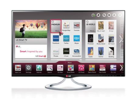 LG MT93, una pequeña Smart TV de 27 pulgadas