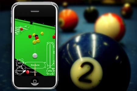 Killer Pool, realista juego de billar para el iPhone/iPod Touch