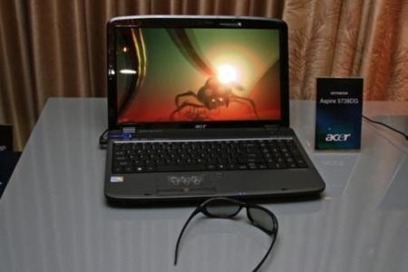 Acer Aspire 5738DG trae las tres dimensiones al portátil