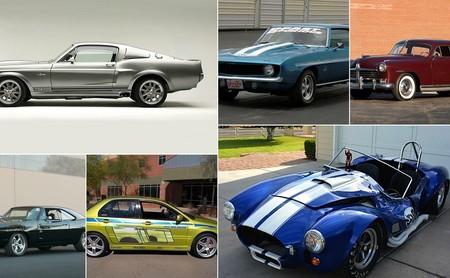 Porque ellos también son estrellas, estos son 13 autos de película que han sido subastados