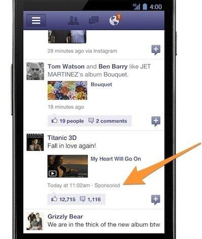 Los anuncios en los móviles, ¿la salvación para Facebook y Twitter?