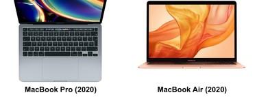 Estas son las principales diferencias entre los nuevos MacBook Pro de 13 pulgadas y el MacBook Air de entrada