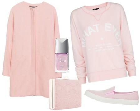 prendas color rosa