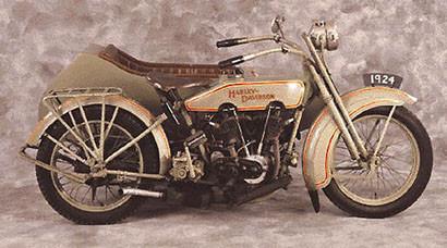 1924 Harley-Davidson 61, la moto de mi abuelo