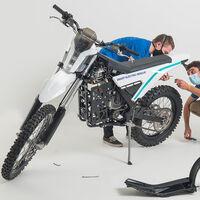 Dayna es la moto eléctrica offroad que puede ayudar a los equipos de rescate, conectada y hecha en España