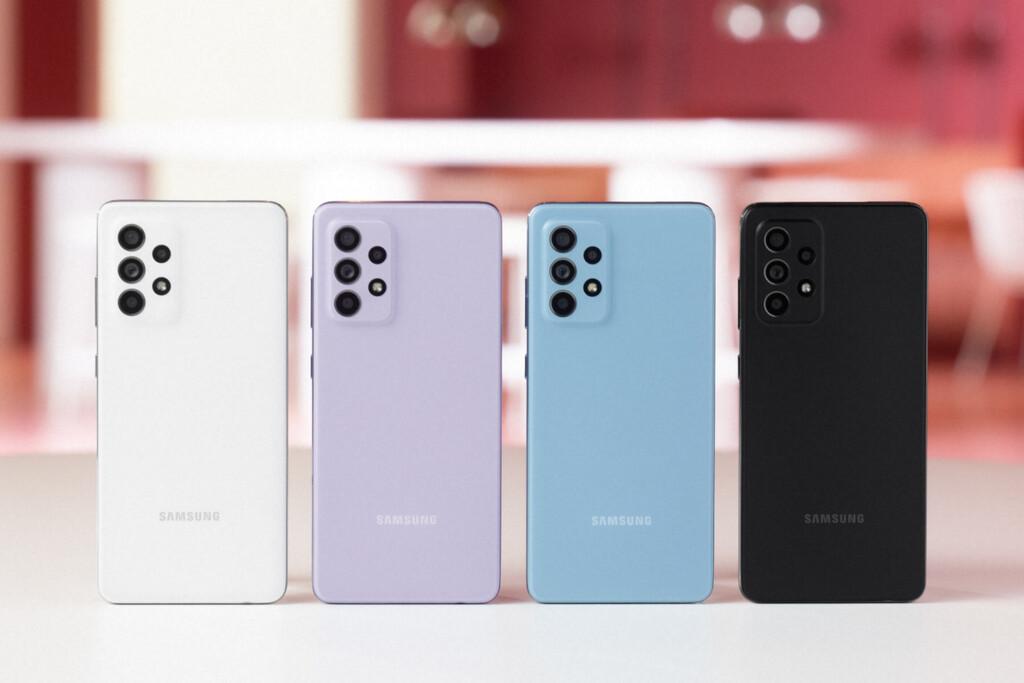 Samsung Galaxy A52 y Galaxy A52 5G: las pantallas AMOLED a tope de hercios y el 5G también pueden ser para la gama media