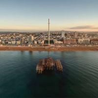 Esta es la torre más delgada del mundo, y está en Brighton
