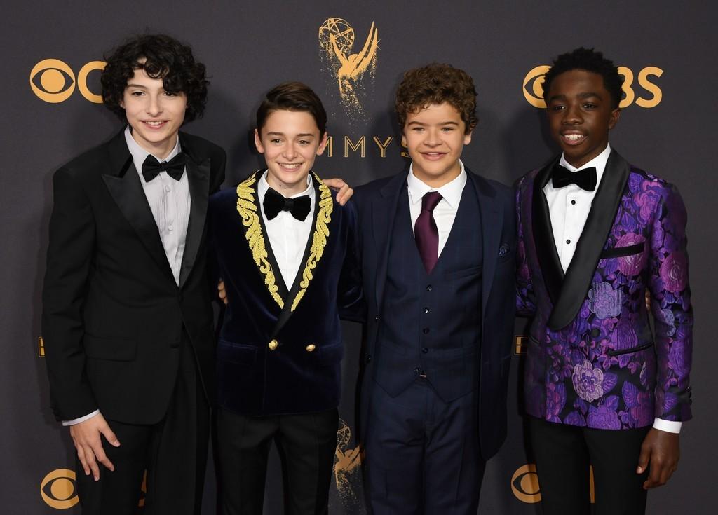1 Stranger Things Cast Red Carpet Emmys 2017 1