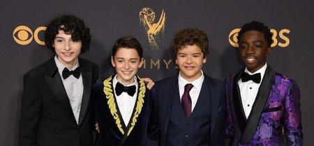 Los chicos de Stranger Things sí que saben lucir en la alfombra roja de los EMMYs