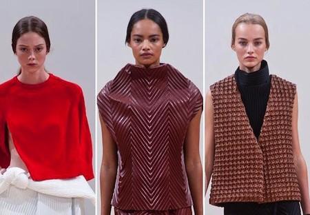 De nuevo se pone de moda la raya en medio, y así lo dicta la London Fashion Week