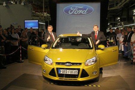Producción del Ford Focus