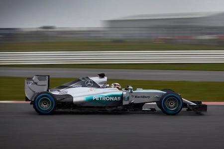 Mercedes W06 F1