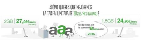 Amena rebaja su tarifa más alta a 24.95 euros al mes bajando de 2 a 1.5 GB, aunque con polémica