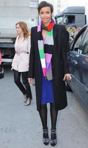 Todas las famosas y modelos en la Semana de la Moda de París, Sonia Rolland