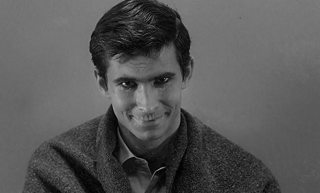 Norman Bates al final de 'Psicosis'