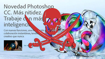 Adobe Photoshop CC ya ha sido pirateado