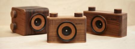 Nopo crea las cámaras más chulas del momento, artesanales y de madera