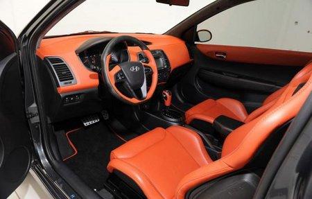 Hyundai i20 Brabus interior