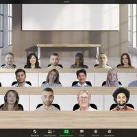 """Zoom lanza su """"Vista inmersiva"""" que te permite ver a todos los participantes de una videollamada en una misma sala"""