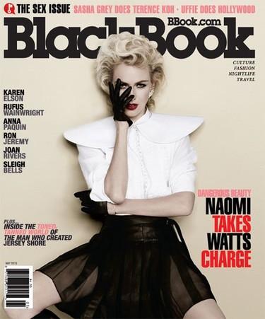 Naomi Watts homenajea a Madonna en un gran reportaje de la revista Blackbook
