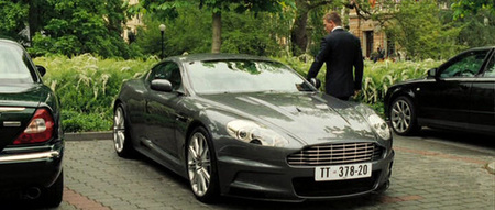 Coches bond - aston martin dbs