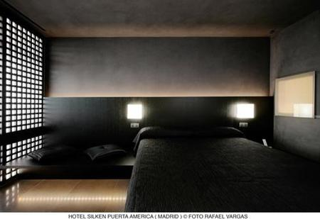 hotel puerta América - Isozaki- habitación