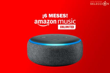 Vuelve el chollazo del Echo Dot 3 con seis meses de Amazon Music Unlimited por 19,99 euros