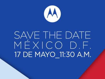 Motorola celebrará un evento de prensa el próximo 17 de mayo