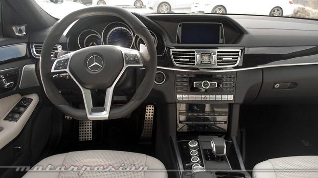 Mercedes-Benz E 63 AMG, presentación y prueba en Barcelona