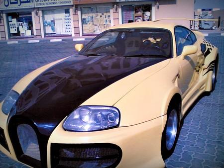 Toyota Supra diseño Veyron