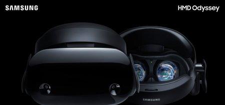 Samsung apuesta por Windows 10 para destronar a Oculus Rift y HTC Vive con su nuevo casco de Realidad Virtual