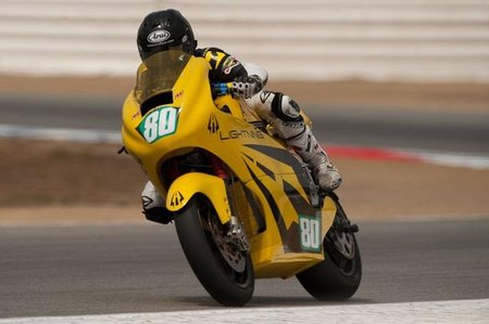 Lightning Motorcycles en acción