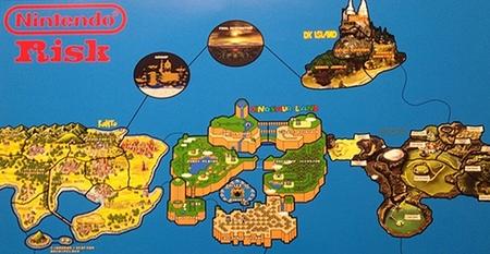 Imagen de la semana: el Risk definitivo de Nintendo