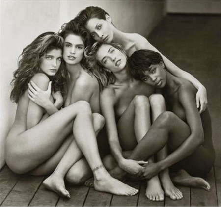 stephanie-cindy-christy-tatjana-naomi-hollywood-1989