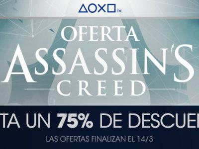 ¿Deseabas jugar algún AC? Ahora es tu oportunidad, la PSN tiene una venta especial de Assassin's Creed