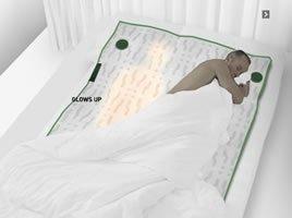 Duerme siempre acompañado aunque no haya nadie