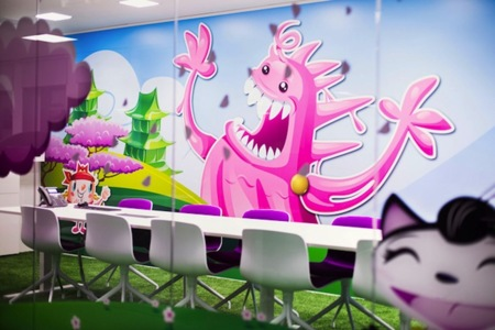 Oficinas Candy Crush