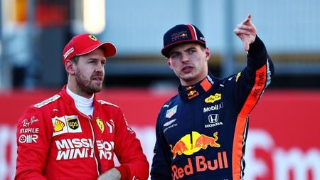Verstappen Vettel F1 2019