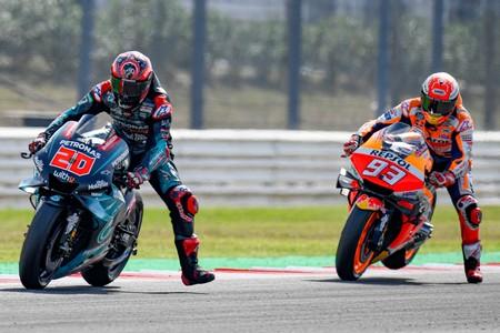 Marc Márquez, Fabio Quartararo y el teaser de lo que podría ser el futuro de MotoGP