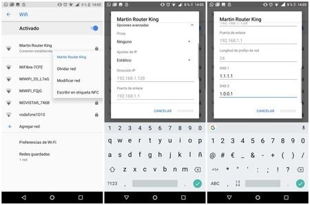 Configurar DNS Android